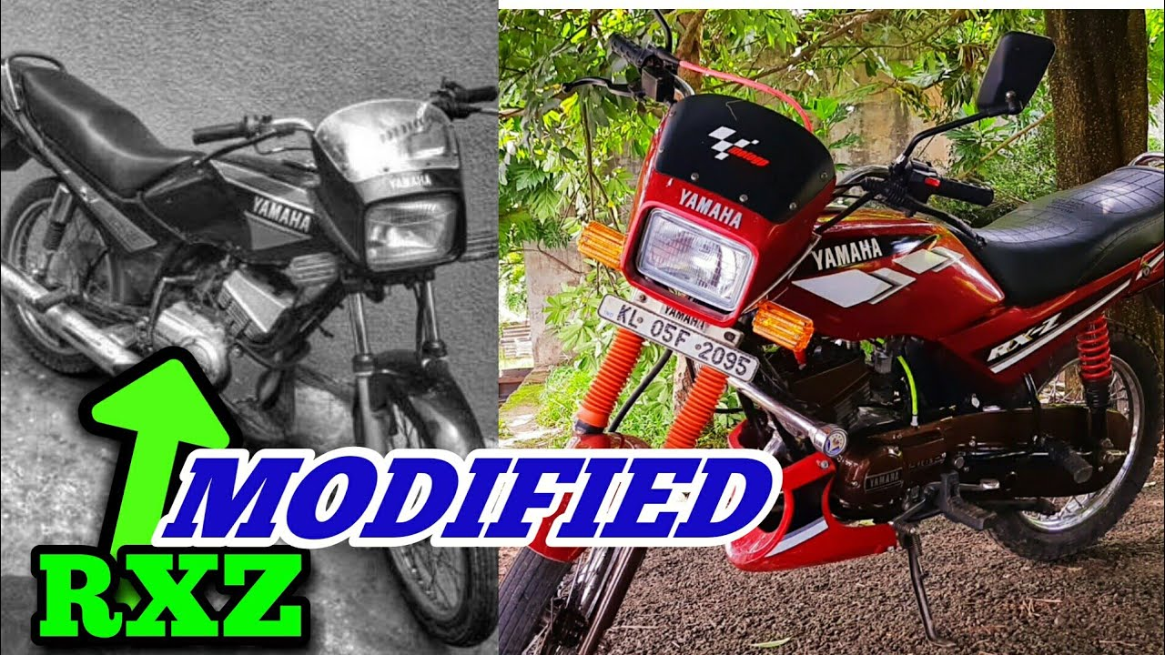 MODIFIED 97 MODEL RXZ   Full detailed Review പണിയണങ്കിൽ ഇങ്ങനെ പണിയണം