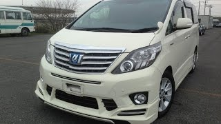 2012 Toyota Alphard V6, Top-of-the Range Sun Roofs, Leather and power everything!  @ Edward Lee's