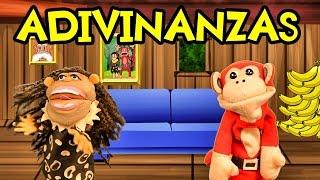 Adivinanzas para niños con El Mono Sílabo | Adivina adivinador | Lunacreciente