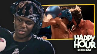 KSI REVEALS WHAT HE WAS THINKING DURING LOGAN PAUL FIGHT