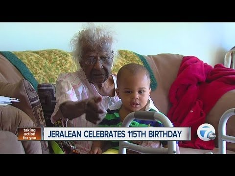 JERALEAN TALLEY turns 115