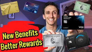 American Express, Chase & Citi Offer NEW BENEFITS AND REWARDS