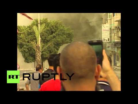 State of Palestine: The moment Israeli rockets destroy Gaza neighbourhood