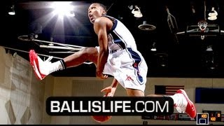 CRAZY High School Dunk Contest W/ Amir Garrett, Jahii Carson & Nick Johnson; Presented by Y & R