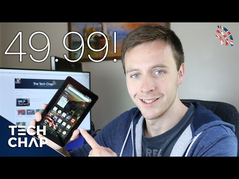 Amazon Fire Tablet Review (£50/$50) | Best Budget Tablet?