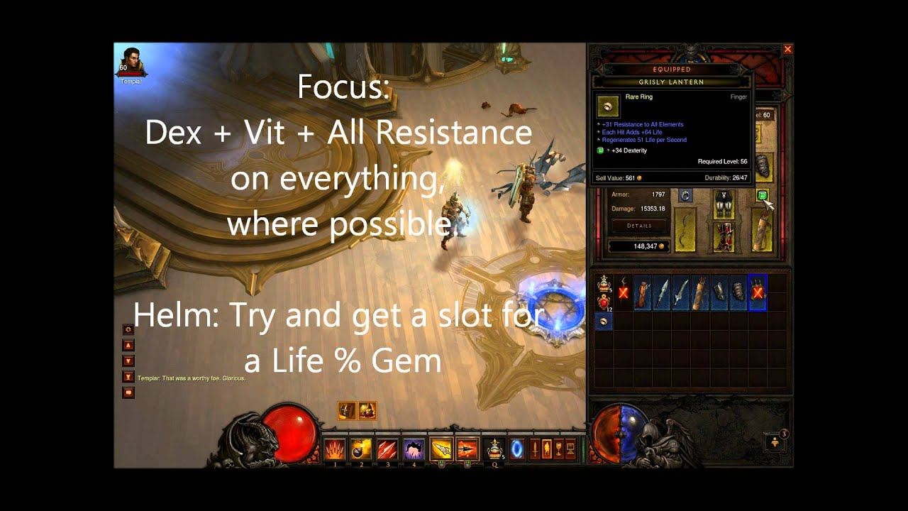 Diablo 3 Hell Demon Hunter Gear Guide: (How to own in Hell Mode Act 4 ...