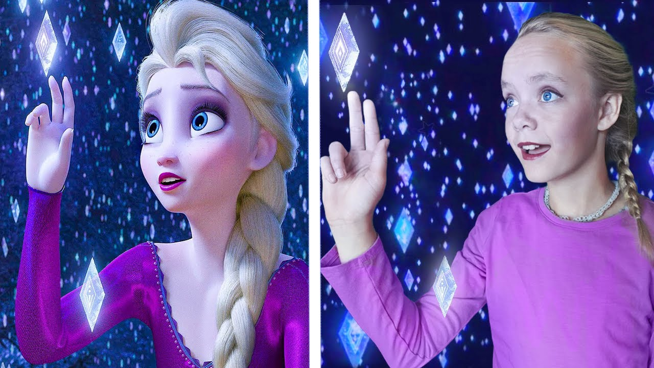 Download Into the Unknown! Frozen 2 Elsa Cover Song (With Lyrics)