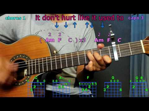 It don't hurt like it used to billy currington guitar chords