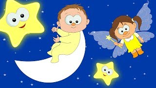 Lullaby - Twinkle Twinkle Little Star | Lullabies For Babies | Bedtime Songs | HooplaKidz TV thumbnail