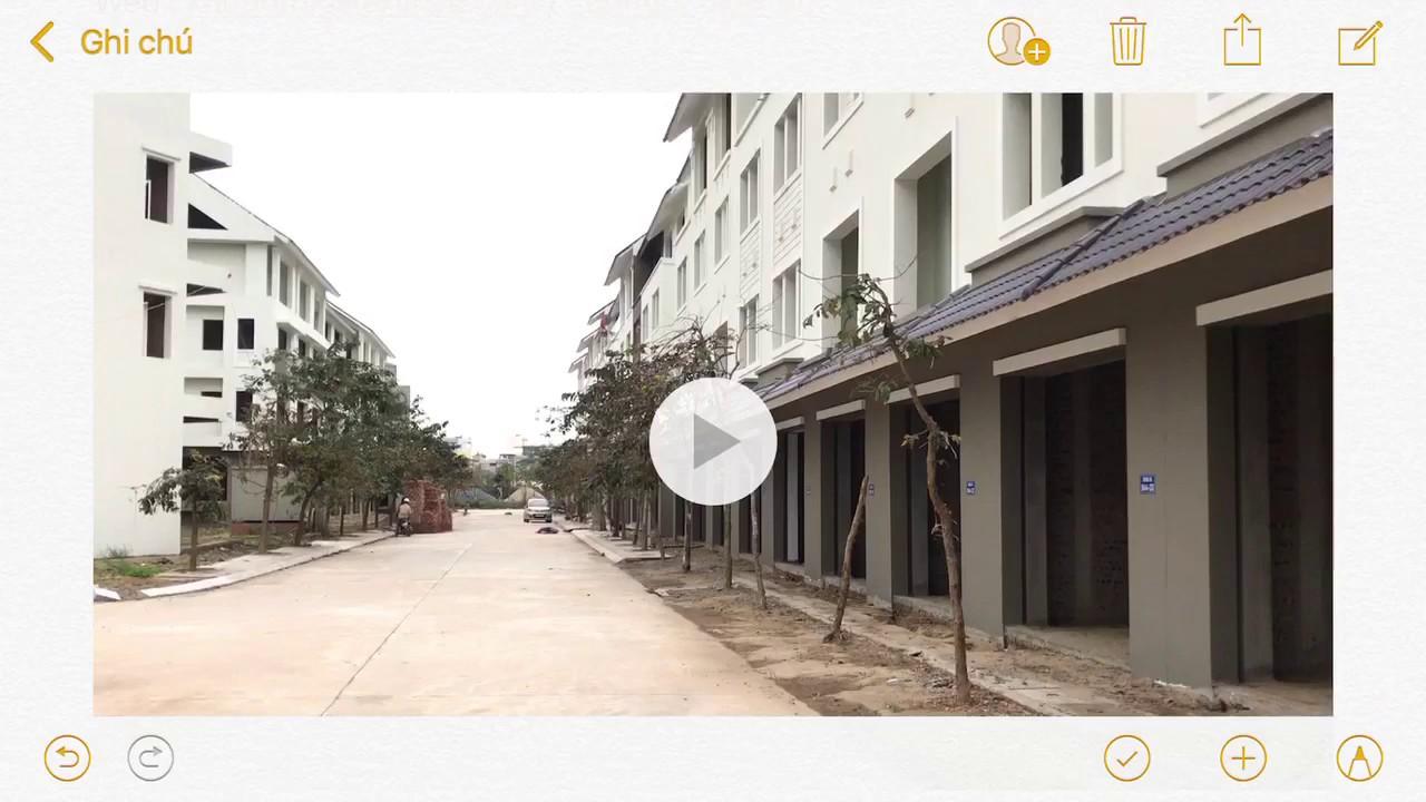 Review bất động sản – Chộp được căn Liền Kề Geleximco Lê Trọng Tấn khu B 60m2 giá rẻ