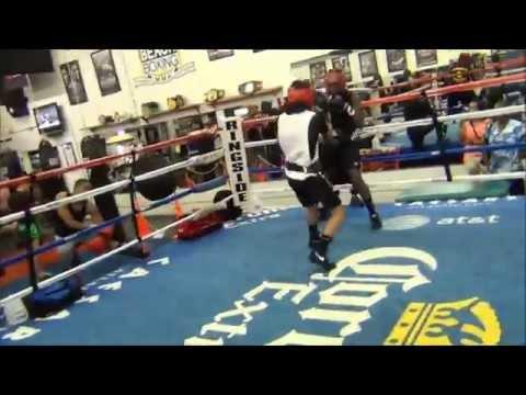 Palm Beach Boxing, Amateur Class, Coach Carlos Rangel, James Arias II. Southpaw, 2015.