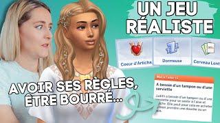 JE TESTE des mods réalistes sur LES SIMS 4 (gynécologue, règles...) 🧐