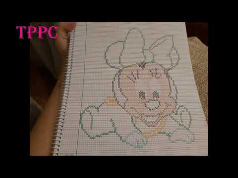 Patrones Exclusivos Mickey Y Minnie Bebés | Creando Patrones Exclusivos Punto De Cruz