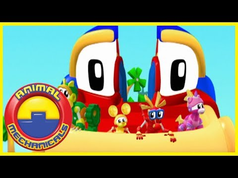 Animal Mechanicals LIVE Full Episodes in English | Season 1: Episodes 1-6 HD | Cartoons For Children