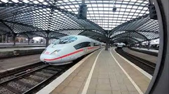 ICE Doppelzug QuadroTrain Köln Hauptbahnhof nach Basel 09 2019 NEU 4k + aktueller Schnellfahrplan