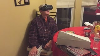 My grandparents try virtual reality