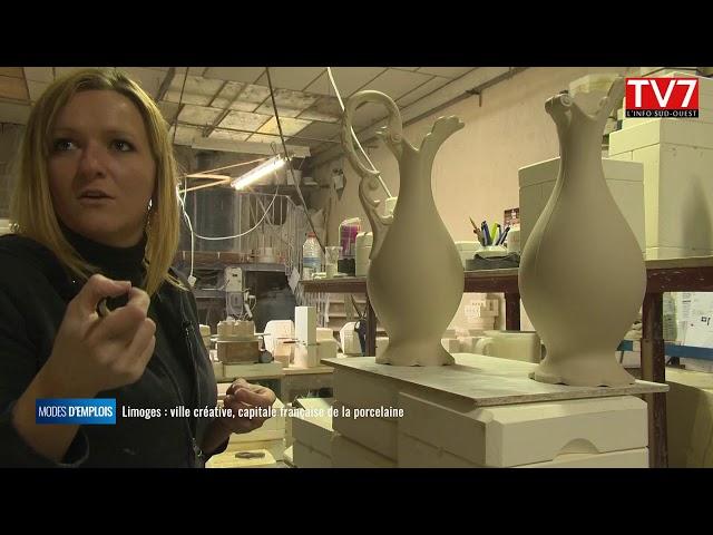 Limoges, ville créative la porcelaine à Limoges