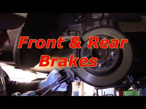 How To Replace Front & Rear Brakes 2016 Hyundai Elantra