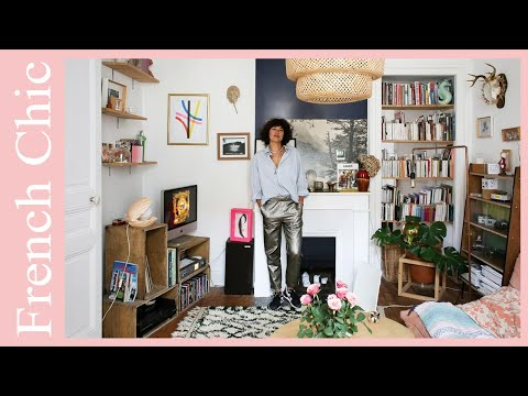 French Chic: Playful Vintage Apartment Tour, Biarritz | 🍍 Interior Design