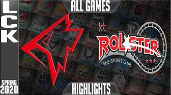 GRF vs KT Highlights ALL GAMES | LCK Spring 2020 W5D3 | Griffin vs KT Rolster