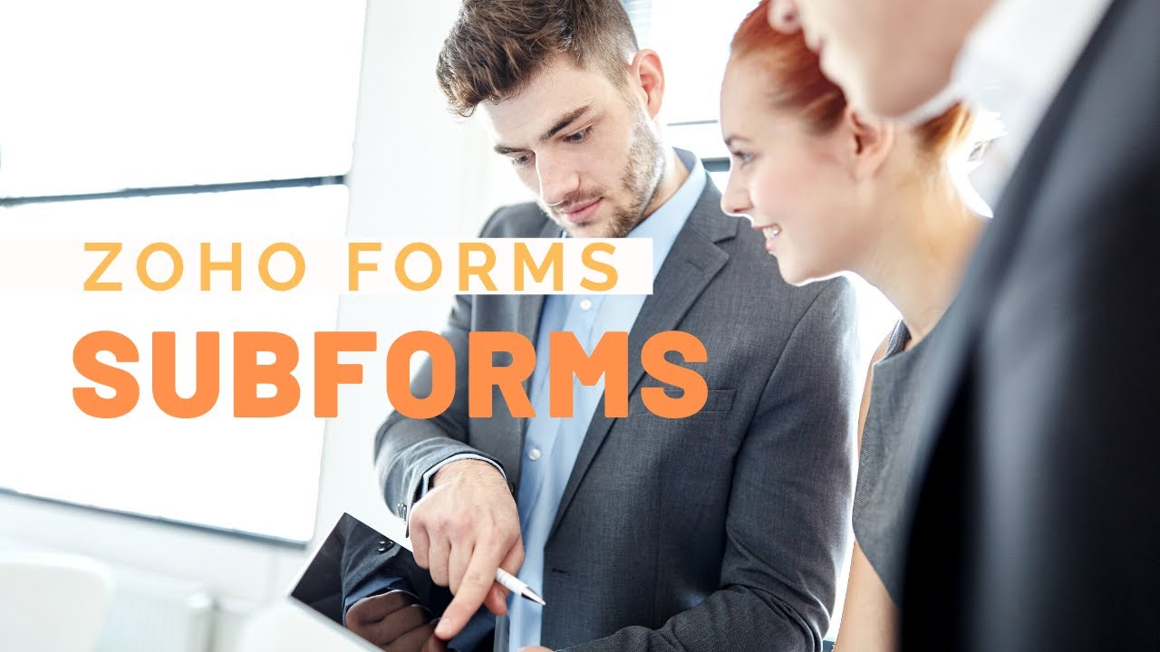 Download Creating SubForms - Zoho Forms Tutorial