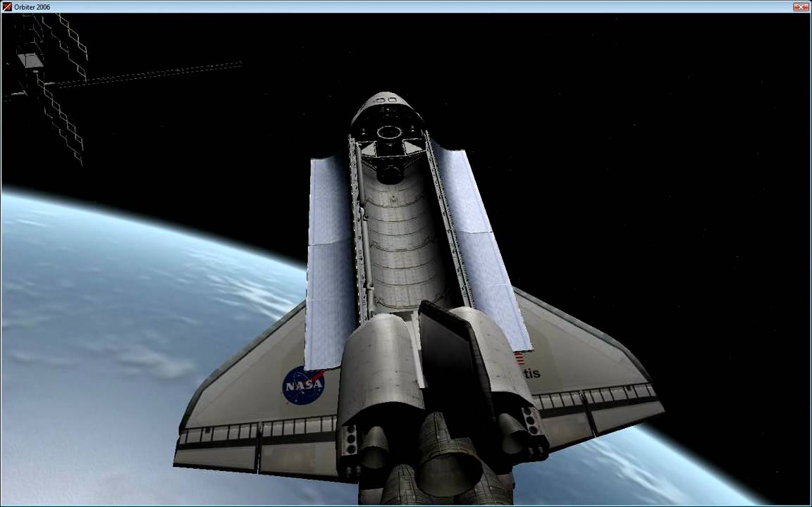 Orbiter Space Flight Simulator preview sample YouTube