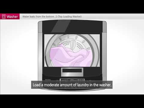 [LG Top Load Washer] - Water leakage from LG Top Load Washing Machine