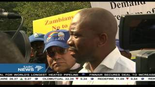 DA leader  wants answers as to why he was denied entry into Zambia