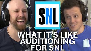 What it's like auditioning for SNL
