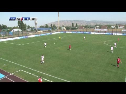 KAZAKHSTAN PRESIDENT CUP-2017. ALBANIA (U17) - GEORGIA (U17)