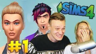 УГАРАЕМ С МОЕЙ ДЕВУШКОЙ В СИМС! СОЗДАЕМ ДРУГ ДРУГА #1 - The Sims 4