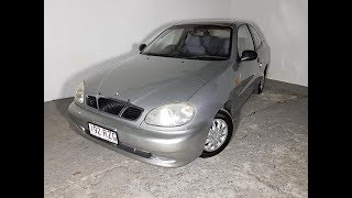(SOLD) Automatic Cars 3D Hatch Daewoo Lanos 2000 Review