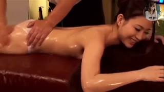 Naked Japanese  Sexy Girl gets forced to have ASMR Oil massage   Relaxing and Amazing 6-11-2019