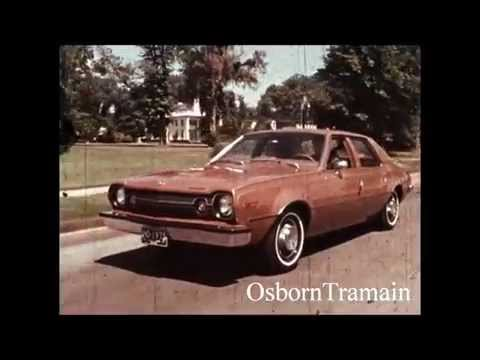 1973 AMC Hornet Commercial - Introduction Film - Mason Adams Voice Over