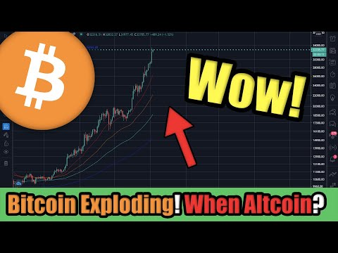 Bitcoin Just SMASHED $33,000 in 2021! HIGHEST EVER!! Be Ready for Altcoins to Pump in 3..2..1..?!
