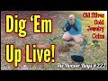 Metal Detecting Gold, Old Silver, Coins, Jewelry & Relics Dug Up Live!