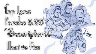 Illaoi vs Fizz - MARDISION GITANA PA TI! - Pretemporada 5.23