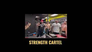 ➡️MICHAEL TODD enseñando ArmWrestling al grupo mexicano de BIG BOY - STRENGTH CARTEL #short