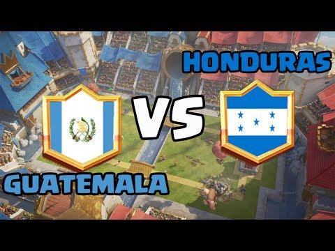 GUATEMALA VS HONDURAS/ DUELO CENTROAMERICANO
