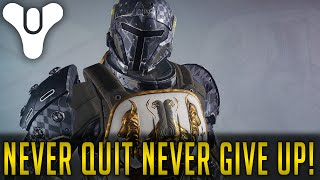 NEVER QUIT NEVER GIVE UP! - Destiny Xbox One 1080p