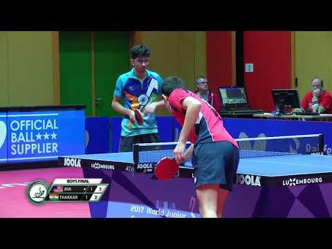 Jha Kanak vs Thakkar Manav Vikash - Final