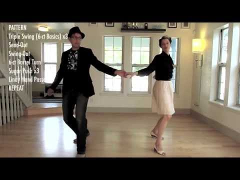 Learn to Swing Dance | Level 3 Lesson 4 (Triple Swing/Lindy Hop) | Lindy Ladder