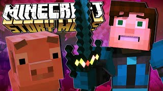 Minecraft Story Mode | THE FINALE!! | Episode 4 [#2](Minecraft Story Mode: Episode 4 : The Finale [Part 2] ▻ Subscribe and join TeamTDM! :: http://bit.ly/TxtGm8 ▻ Previous Episode :: https://youtu.be/zd3JwH4zyiA ..., 2015-12-23T18:32:55.000Z)