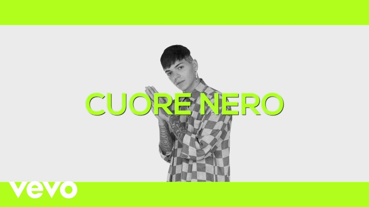 "X FACTOR Italy Blind ""Cuore Nero"""