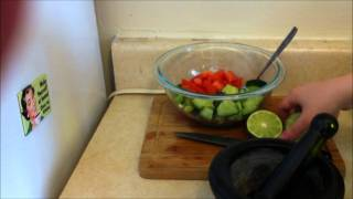 Simple Side: Cucumber-tomato Salad (vegan, Gluten Free, Nut Free)
