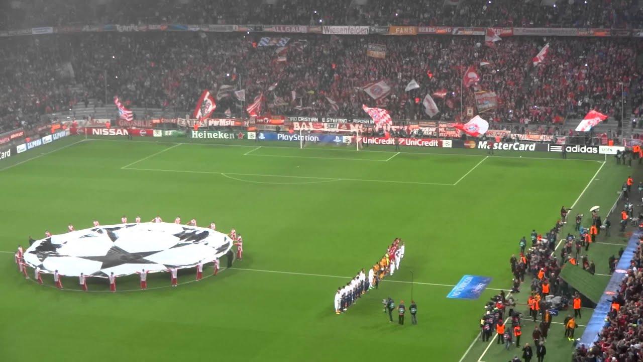 Bayern Monaco - AS Roma - Inno Champions League - YouTube