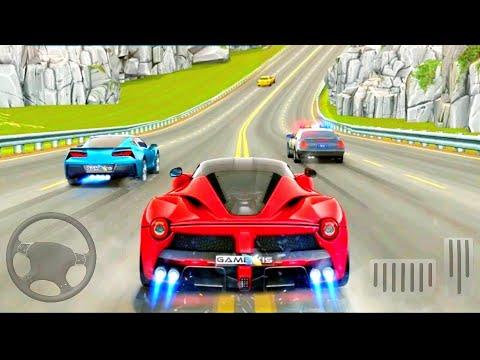 Download voiture de course - circulation courses voiture 3D - jeux Android GamePlay