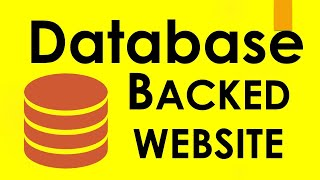 How to create a database website with PHP and mySQL 01 - Intro