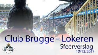 Club Brugge - Lokeren -  sfeerverslag 10/12/2017