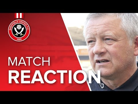 Chris Wilder's Hull reaction